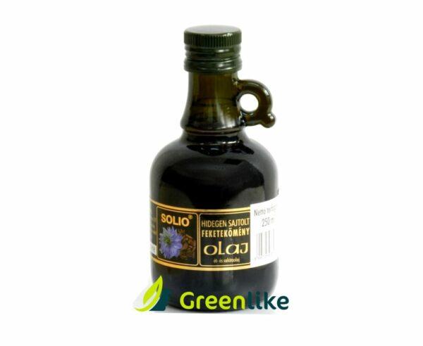 čierna rasca olej solio za studena lisovaný