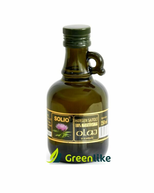 bodliakový (pestrecový) olej za studena lisovaný