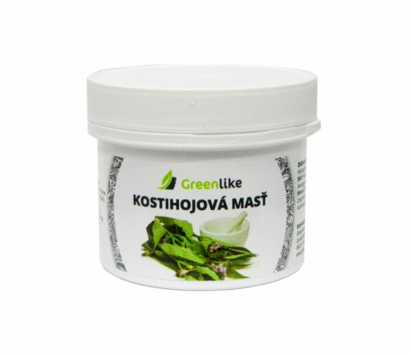 kostihojová masť greenlike
