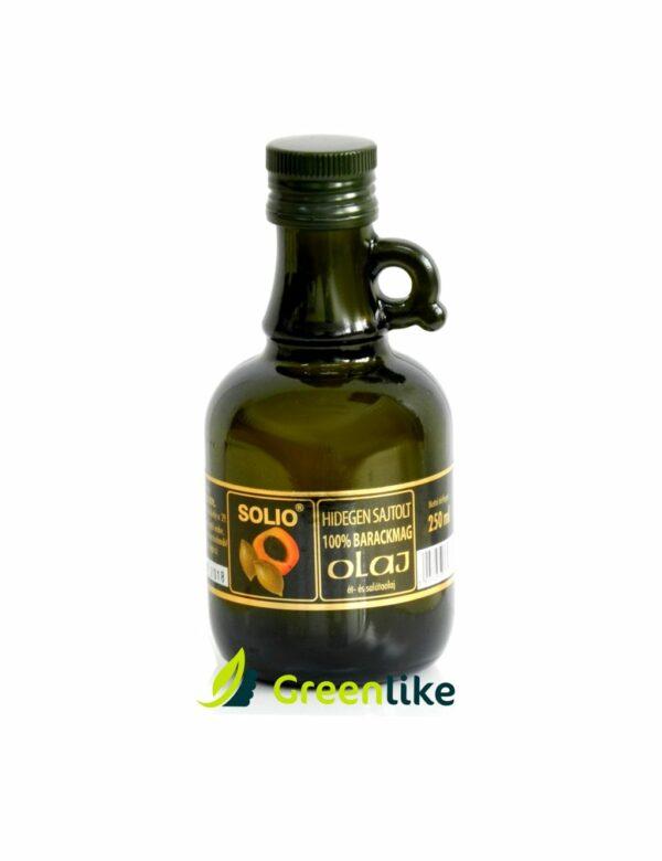 marhulový olej za studena lsovany solio