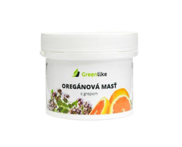 oregánova masť s grepfruitovým olejom greenlike