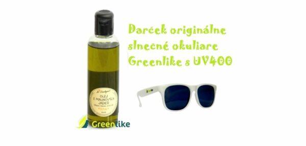 malinový olej 200 ml opalovanie opalovací + darček