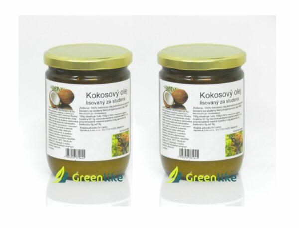 kokosový olej gratis akcia 1+1 zdrama