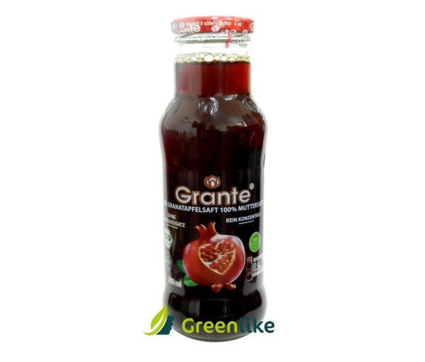 grante granatové jablko štava 250 ml